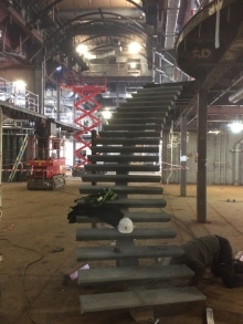 Escalier décoré E34 - ©CMR2016