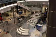 Escalier promenade A34 ©CMR2016