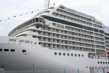 Balcons et séparations navires MSC Musica - ©CMR 2005