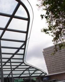 Auvent vitrée Rennes - ©CMR 2012